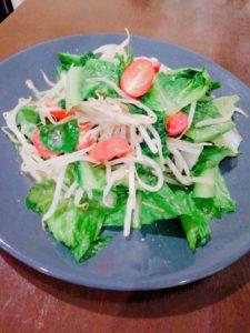 ロメインレタス温野菜サラダ