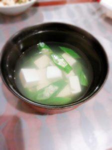 オクラとお豆腐のスープ