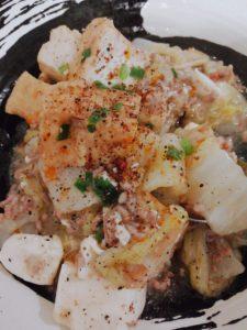 白菜の山椒うま煮飯飯