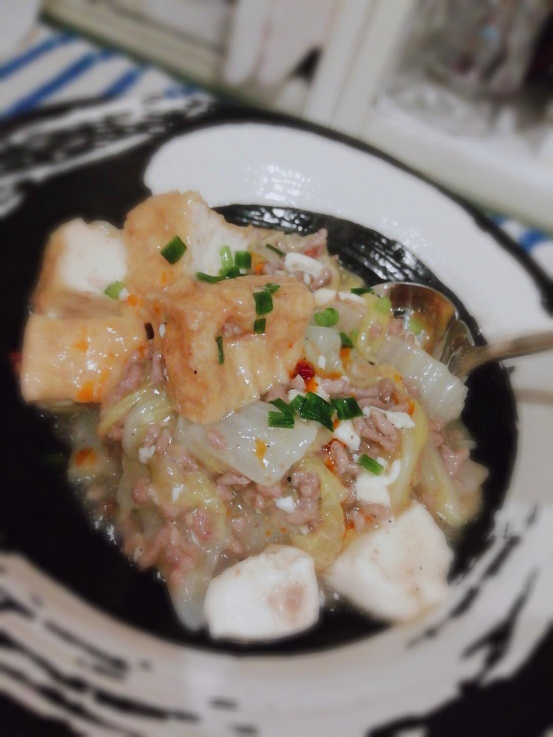 白菜の山椒うま煮飯