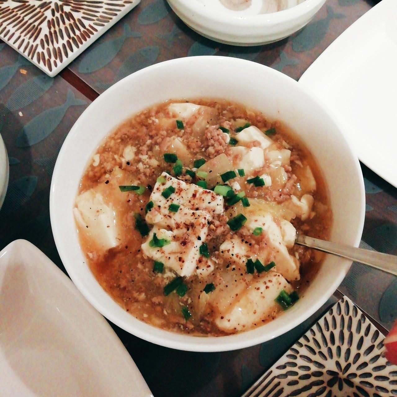 白菜と豆腐のとろとろあんかけ煮込み