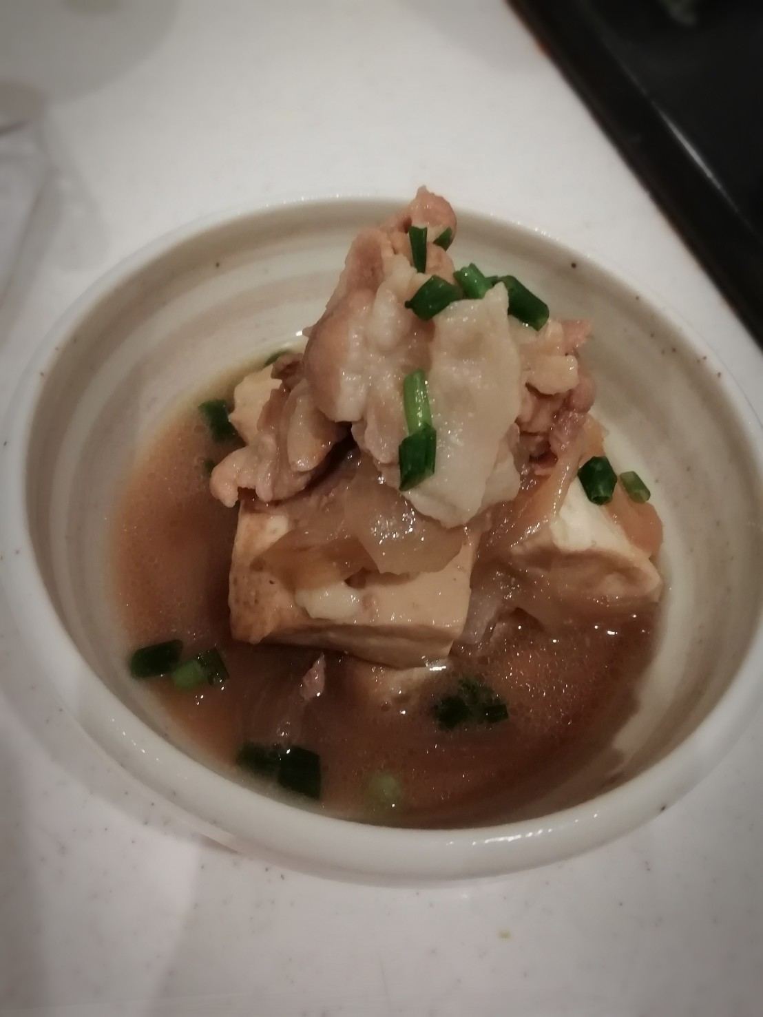 フライパンで簡単肉豆腐