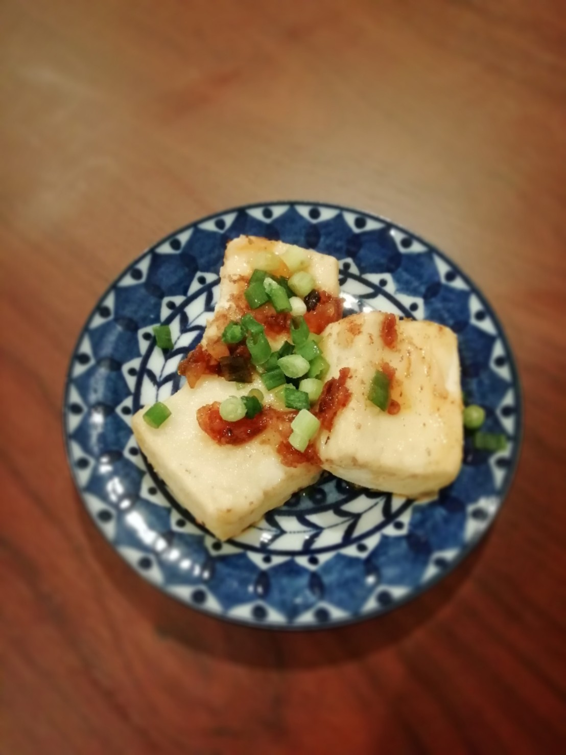 簡単揚げ焼き豆腐