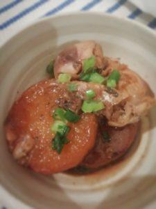 大根×鯖缶の簡単煮物