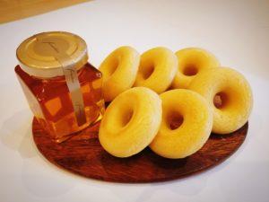 ダイソーの型で作る焼きドーナツ