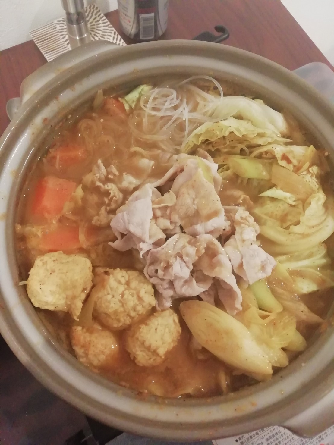 簡単カレー鍋
