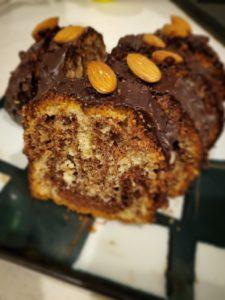 チョコのマーブルケーキ