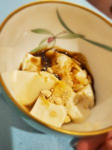 豆乳花(トールーファ)とお手製黒蜜