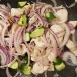 しっとり鶏ムネ肉ときゅうりのごま塩炒め