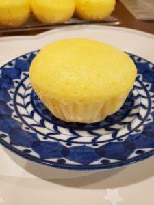 スライスチーズのチーズ蒸しぱん