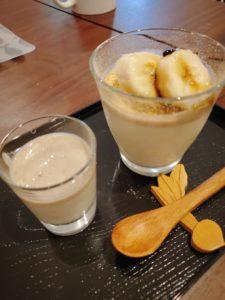 豆腐&バナナのババロア
