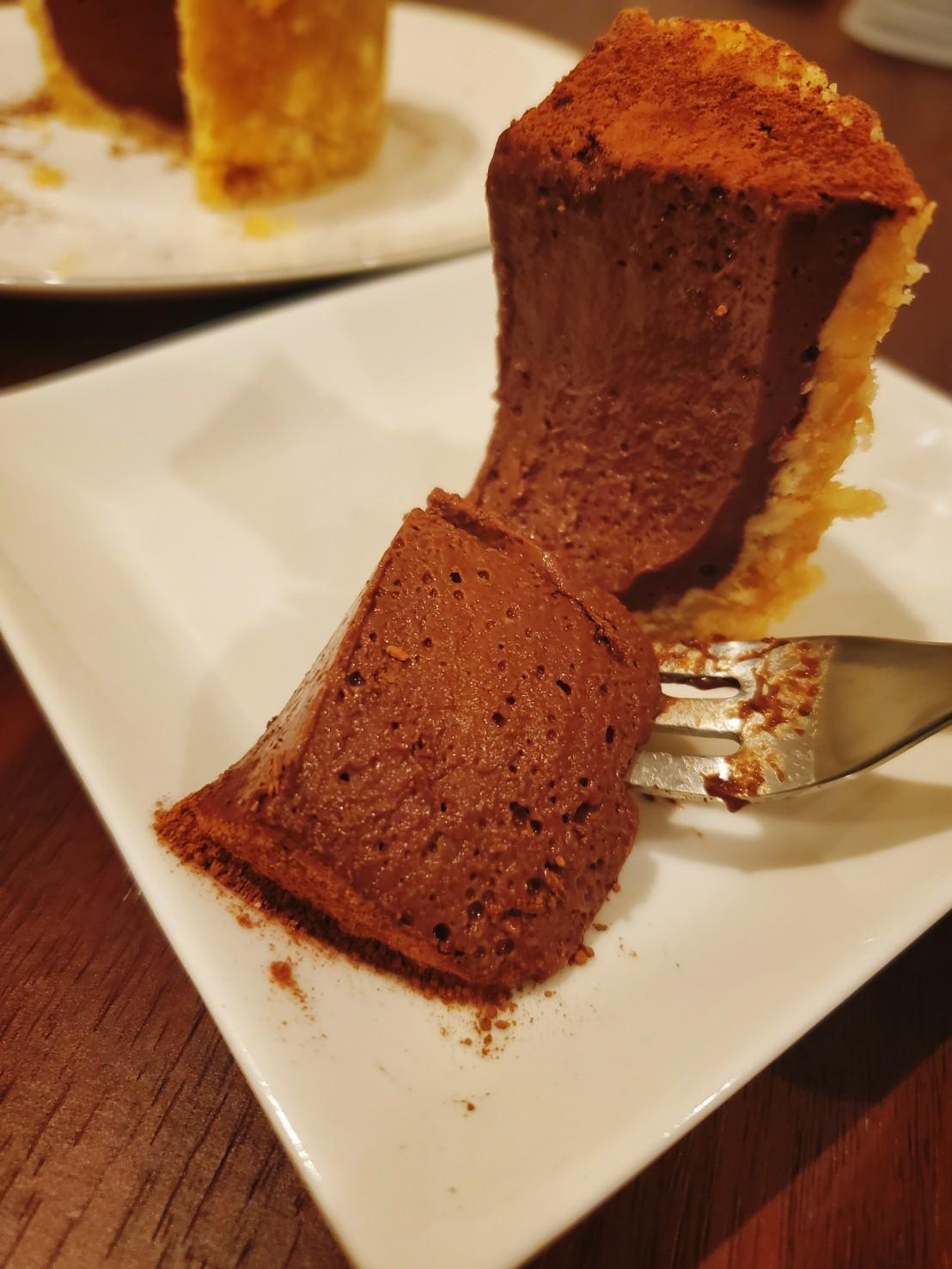 豆腐なのに濃厚❤️生チョコタルト