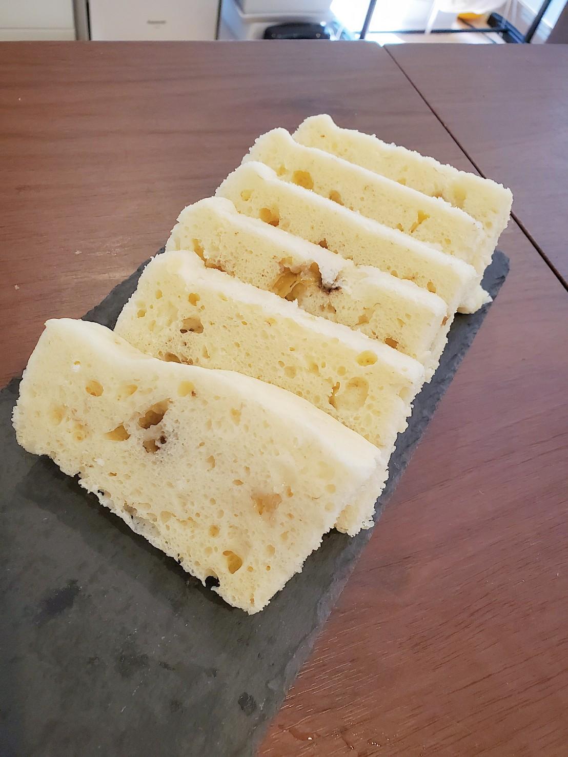 ホエーでもっちり蒸しパン。レンチンで簡単!