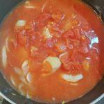トマト缶で簡単!鶏肉のトマト煮込み