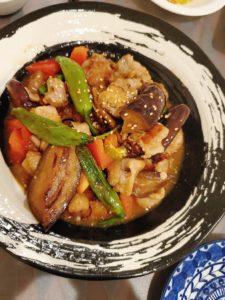 豚こま肉と夏野菜のとろ〜り南蛮漬け
