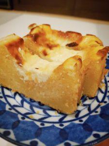 卵不使用❤️パルメザンと豆腐のチーズケーキ