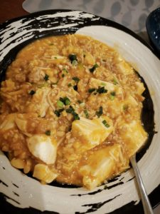 和風えのき麻婆豆腐